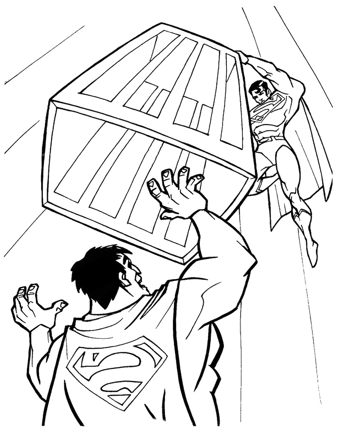 superman color pages get this printable superman coloring pages 32236 pages color superman