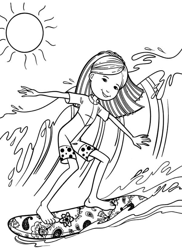 surfing coloring pages 36 free printable summer coloring pages coloring surfing pages