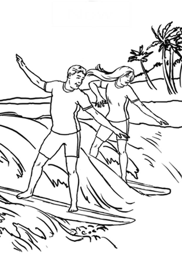 surfing coloring pages sun playing surfing on beach coloring picture for kids coloring pages surfing