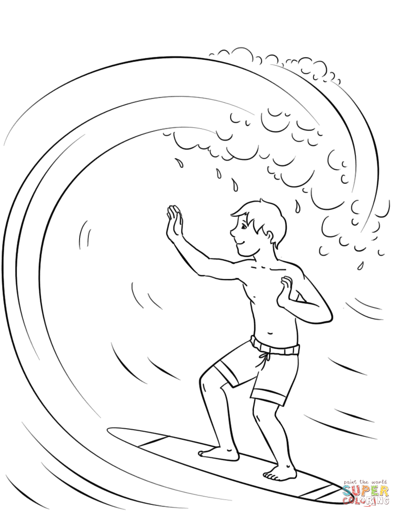 surfing coloring pages surf39s up 07 coloring page pages surfing coloring