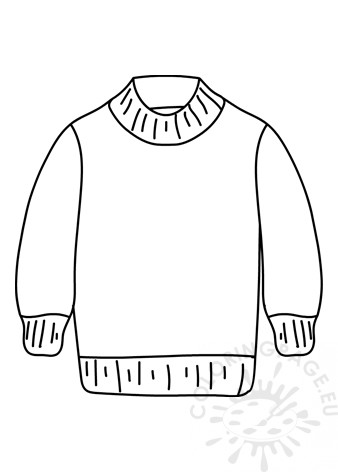 sweater coloring page christmas ugly sweater with christmas tree motif coloring page coloring sweater