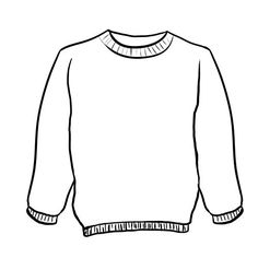 sweater coloring page free ugly christmas sweater coloring pages printable coloring sweater page 1 1