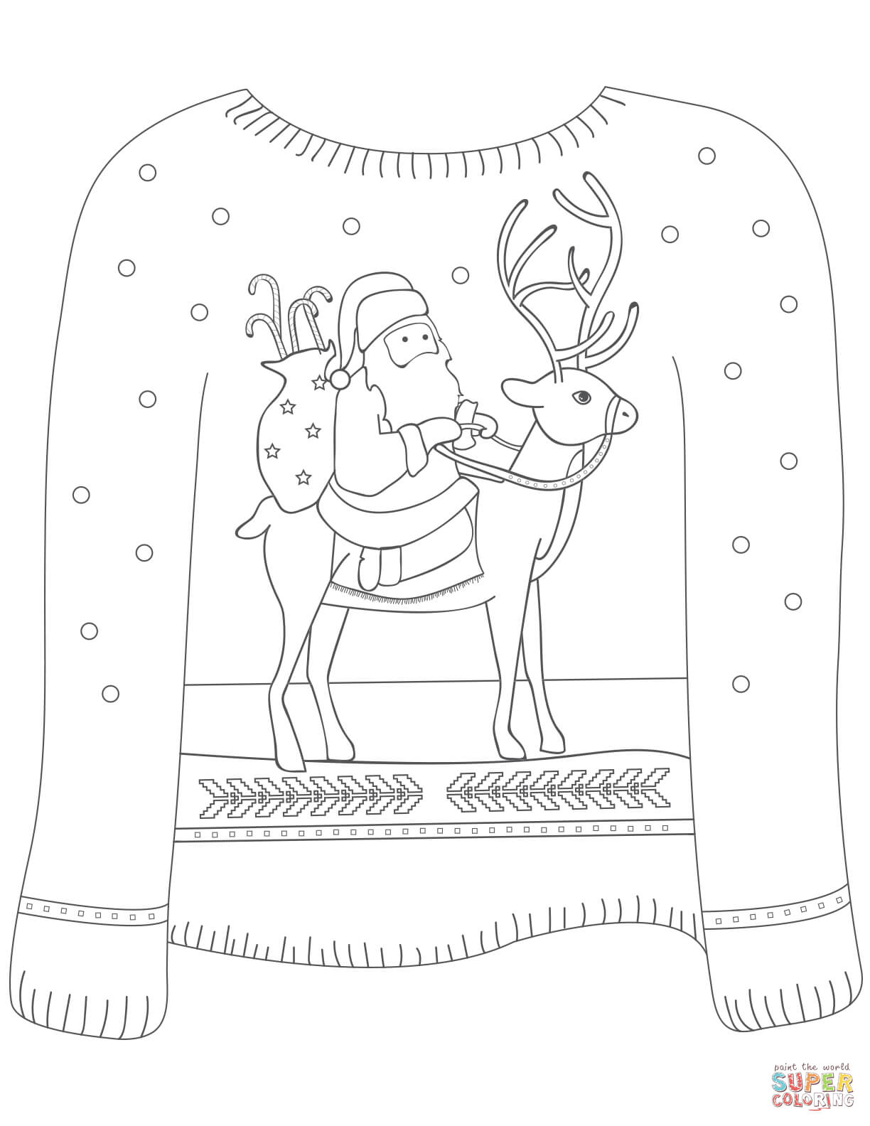 sweater coloring page ugly sweater cardigan coloring page coloring pages coloring sweater page