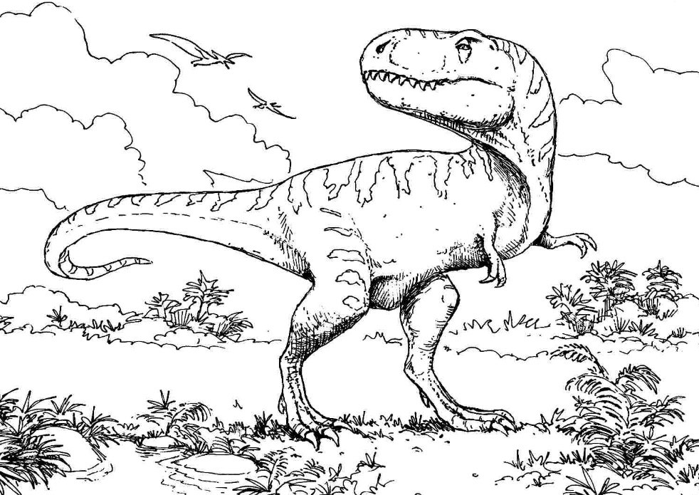 t rex coloring pictures t rex cartoon drawing at getdrawings free download t pictures rex coloring
