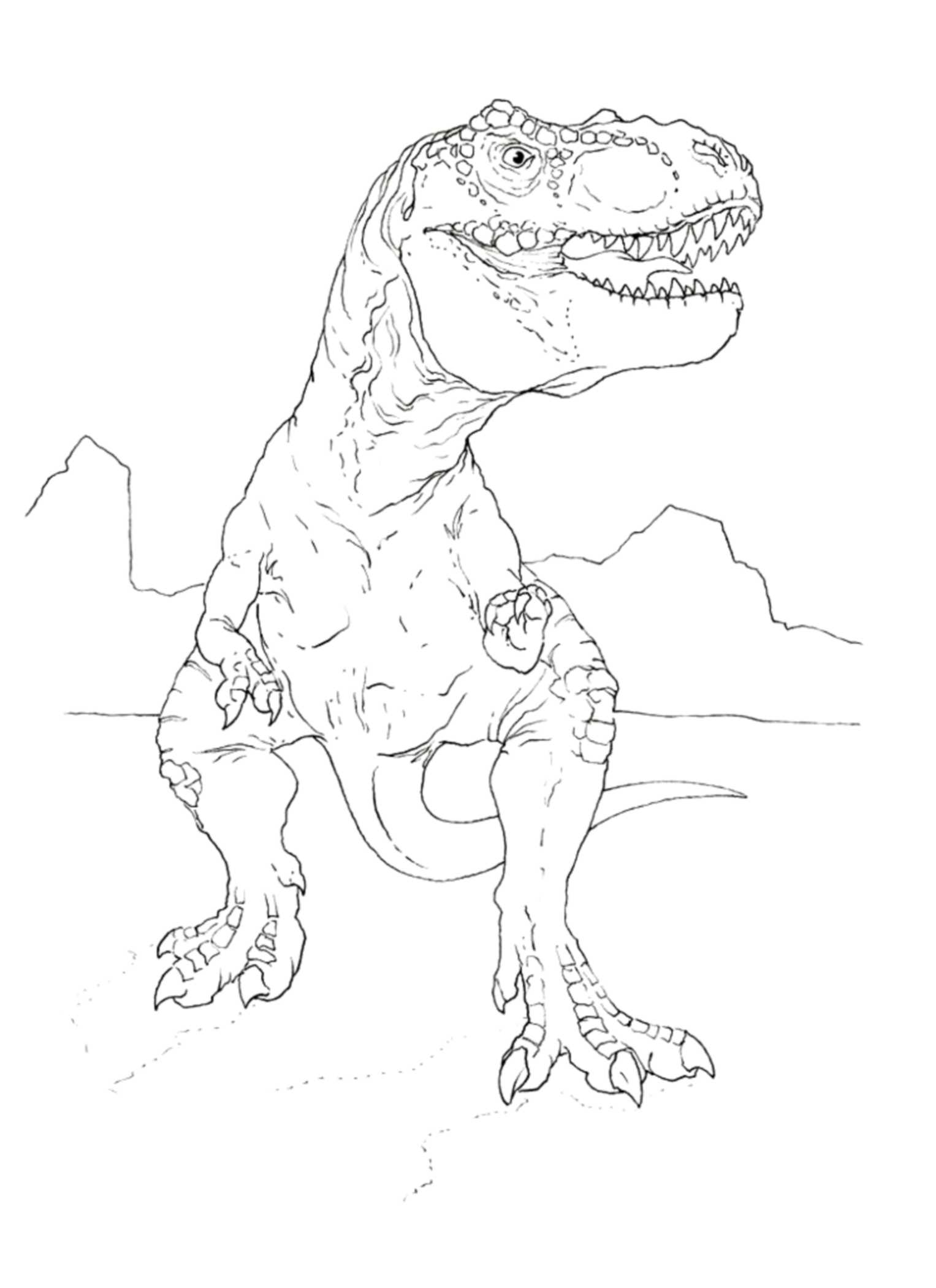 t rex coloring pictures t rex head drawing at getdrawings free download pictures rex t coloring