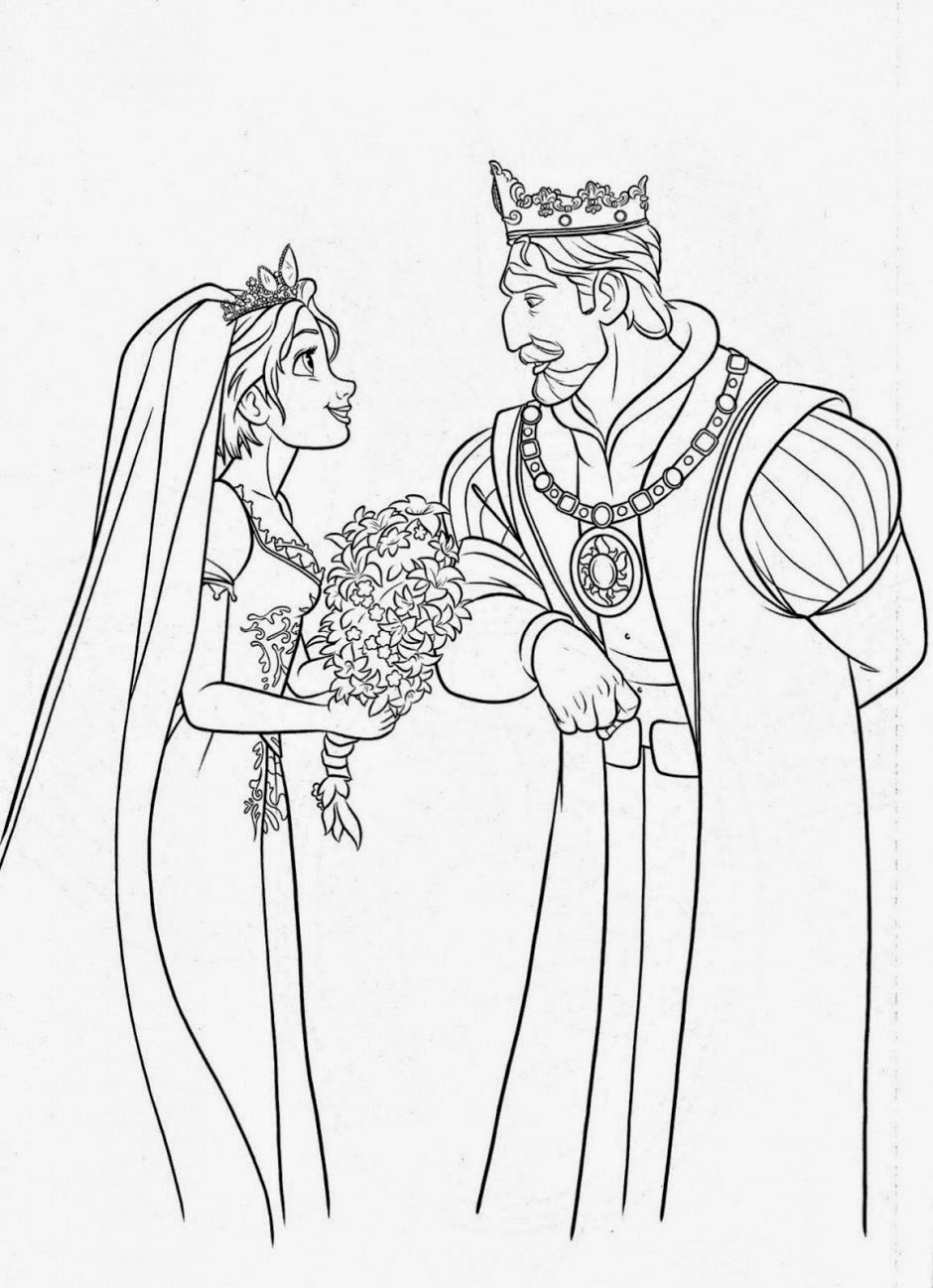 tangled coloring 20 beautiful rapunzel coloring pages for your little girl tangled coloring