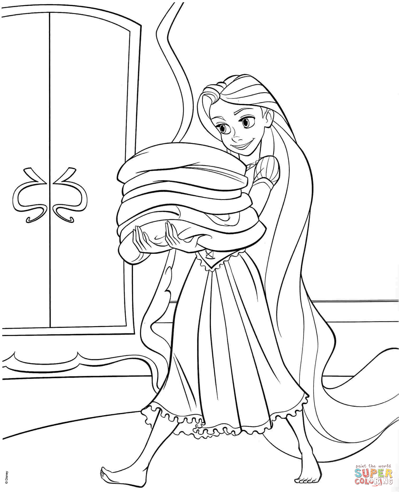 tangled coloring free printable tangled coloring pages for kids coloring tangled