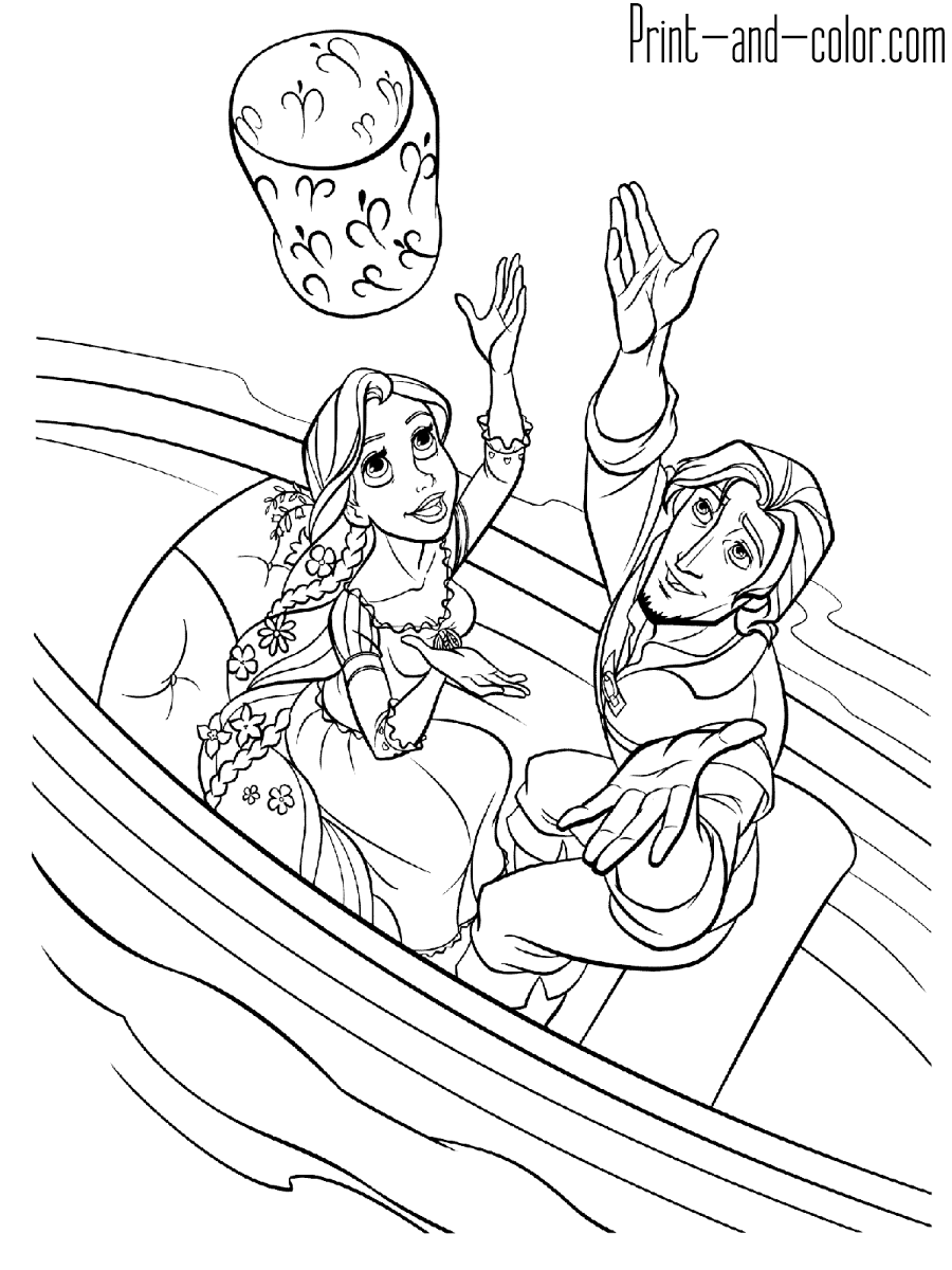 tangled coloring free printable tangled coloring pages for kids coloring tangled 1 1