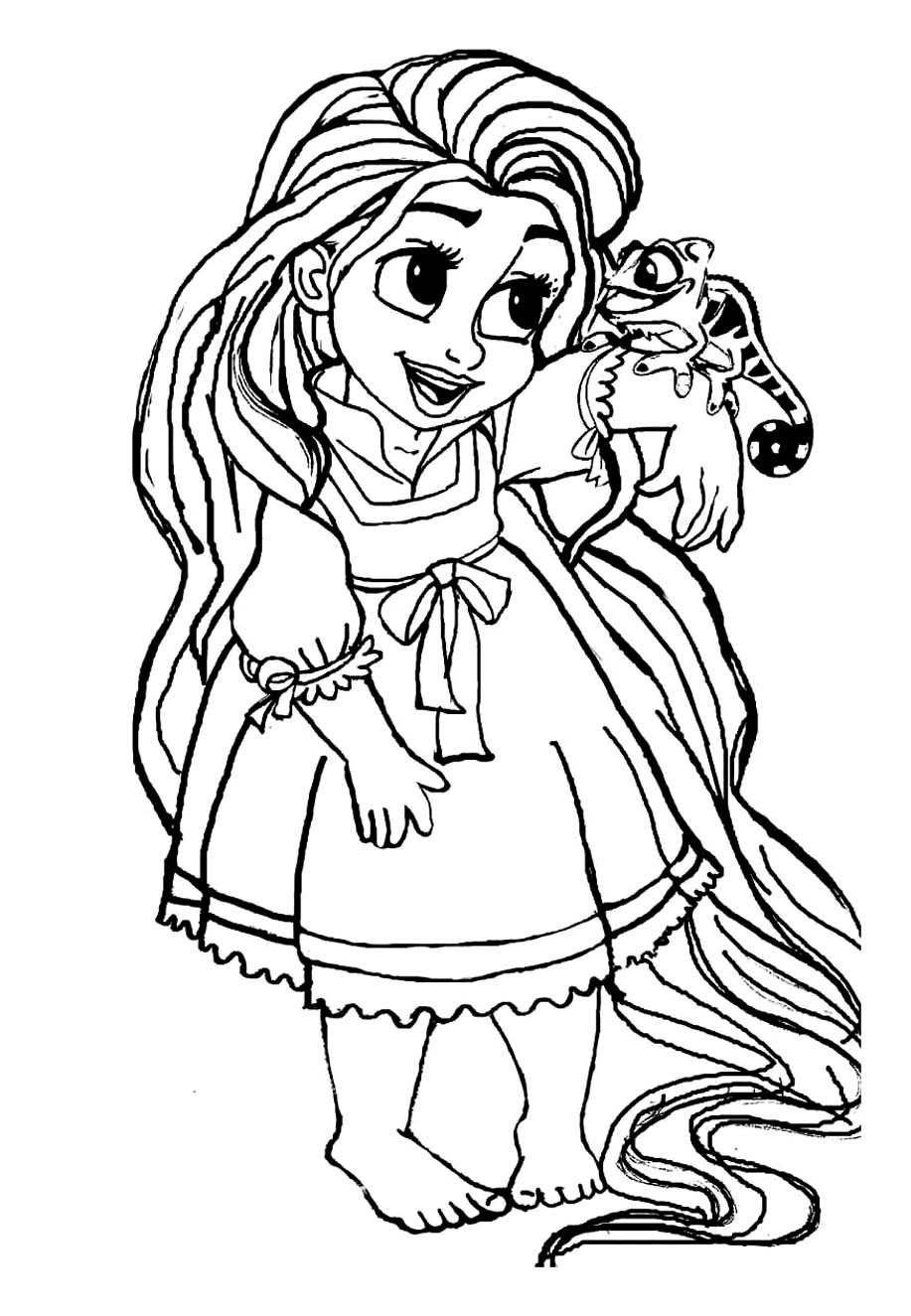 tangled coloring page coloring pages quottangledquot free printable coloring pages of tangled coloring page 1 1