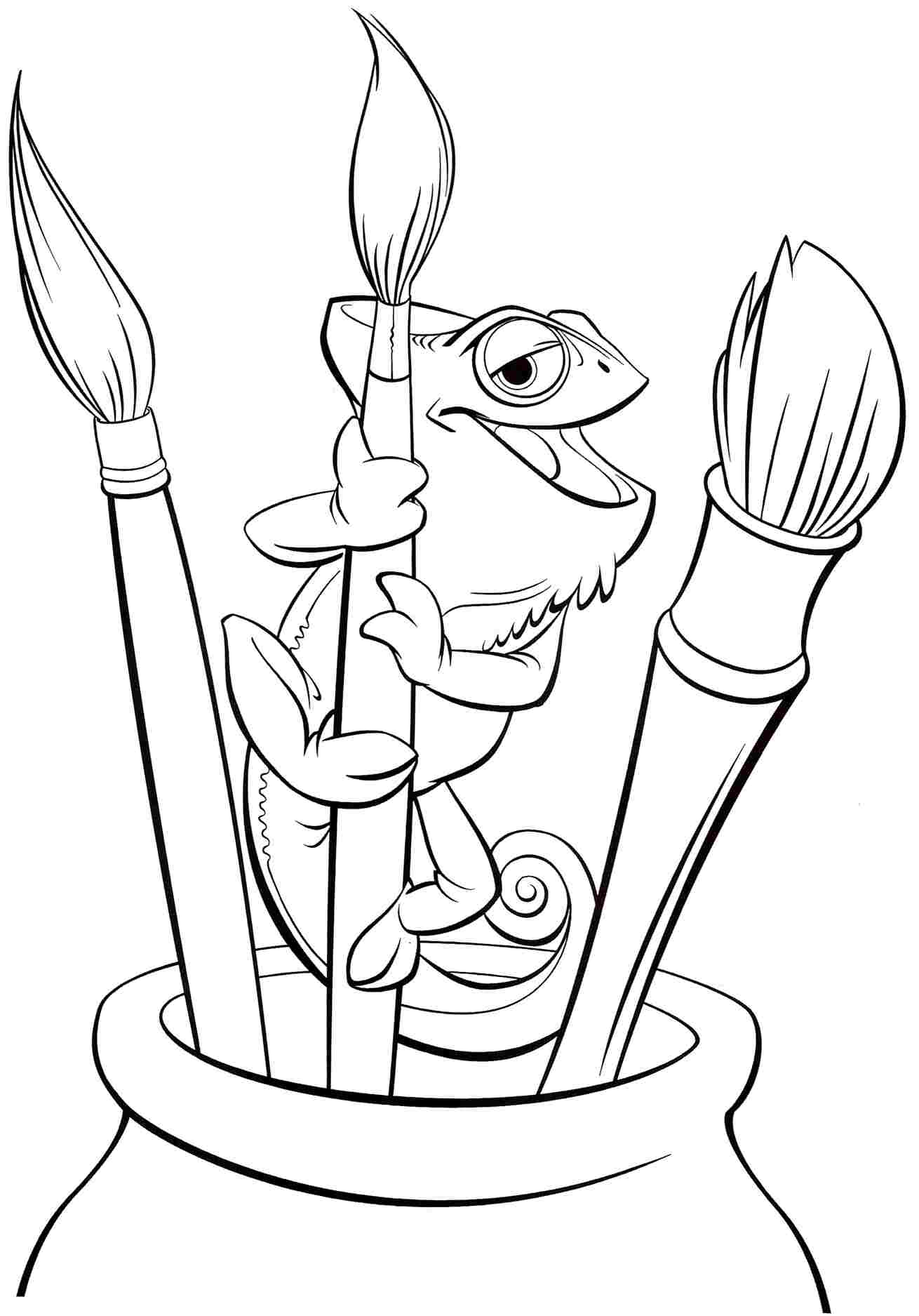 tangled coloring tangled the series coloring pages printable tangled coloring