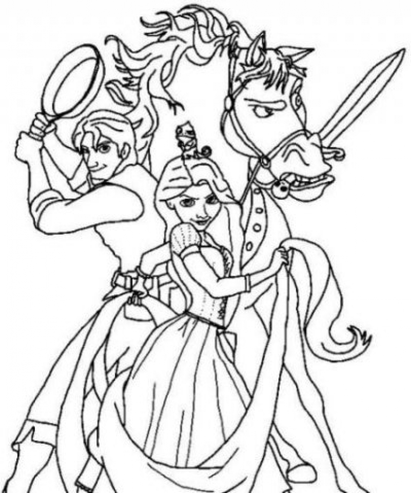 tangled for coloring 20 beautiful rapunzel coloring pages for your little girl for tangled coloring