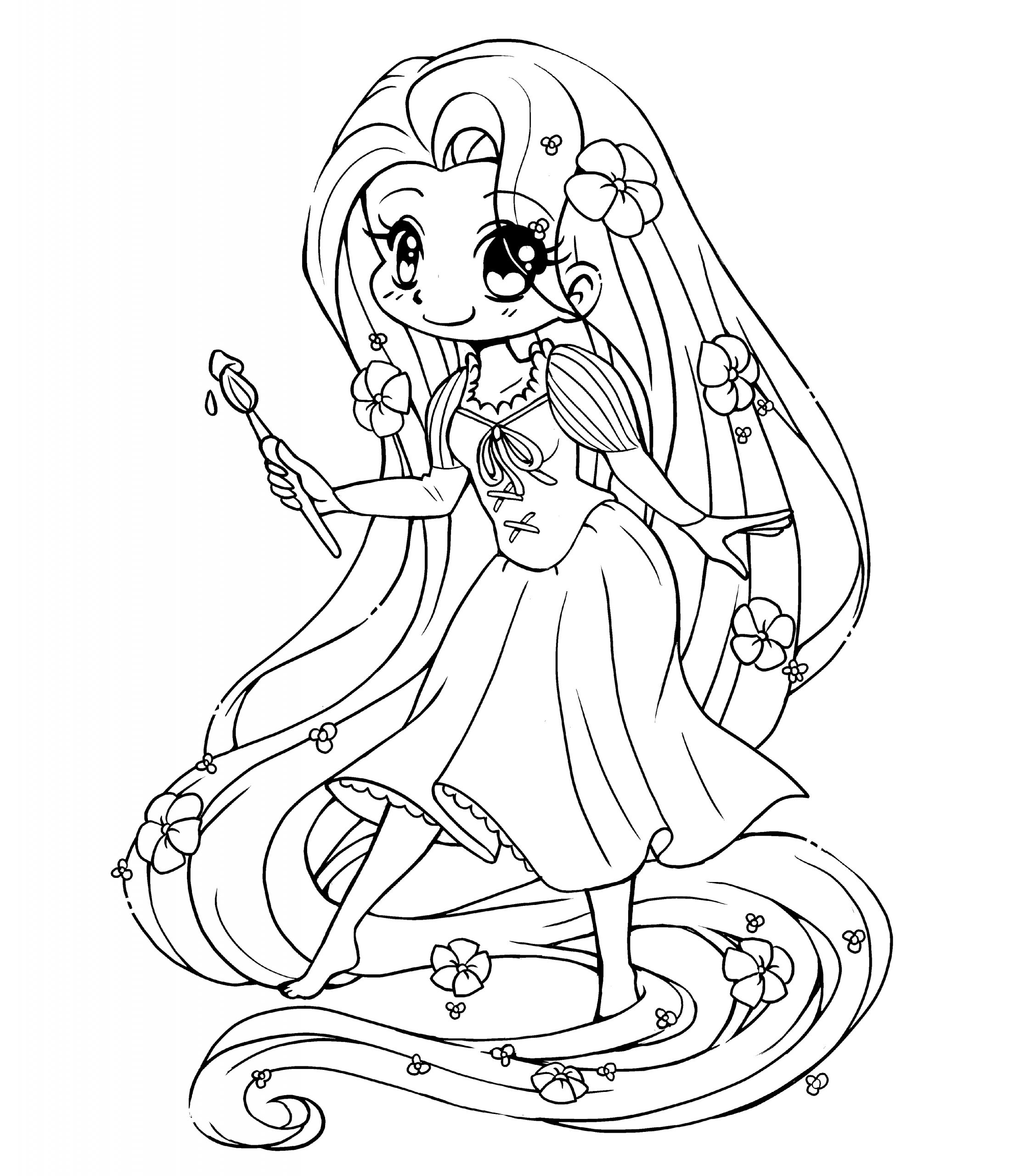 tangled for coloring free printable tangled coloring pages for kids cool2bkids coloring tangled for