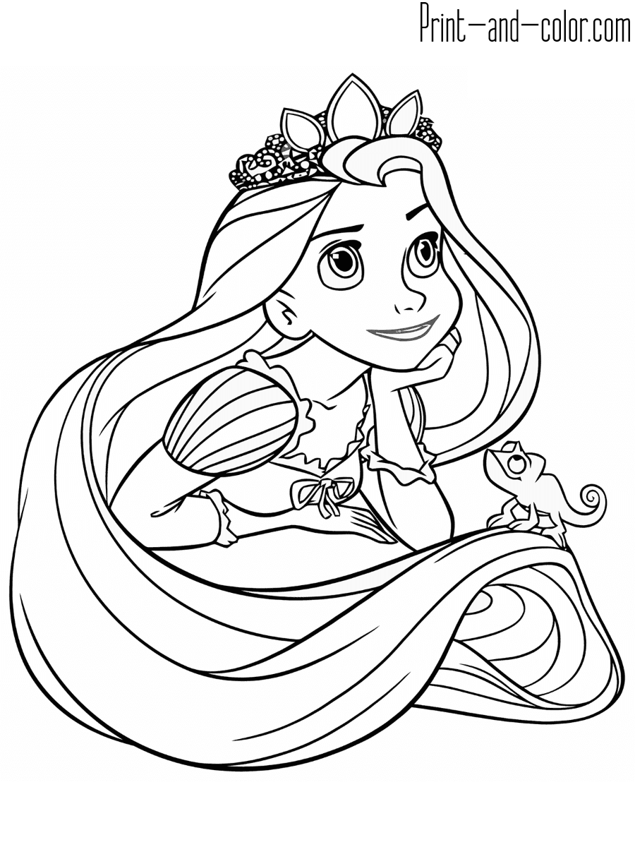 tangled for coloring free printable tangled coloring pages for kids for coloring tangled