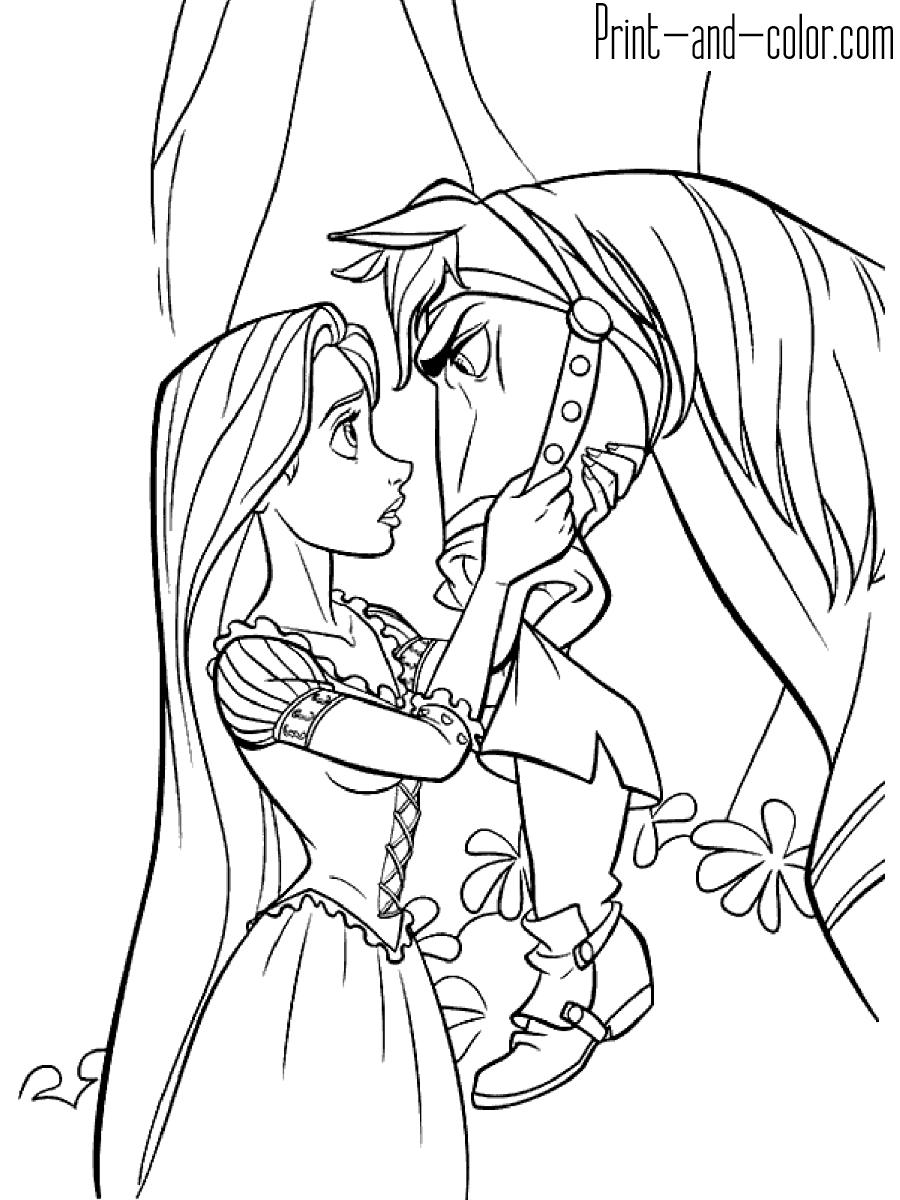 tangled for coloring get this disney princess rapunzel coloring pages tx523b for tangled coloring