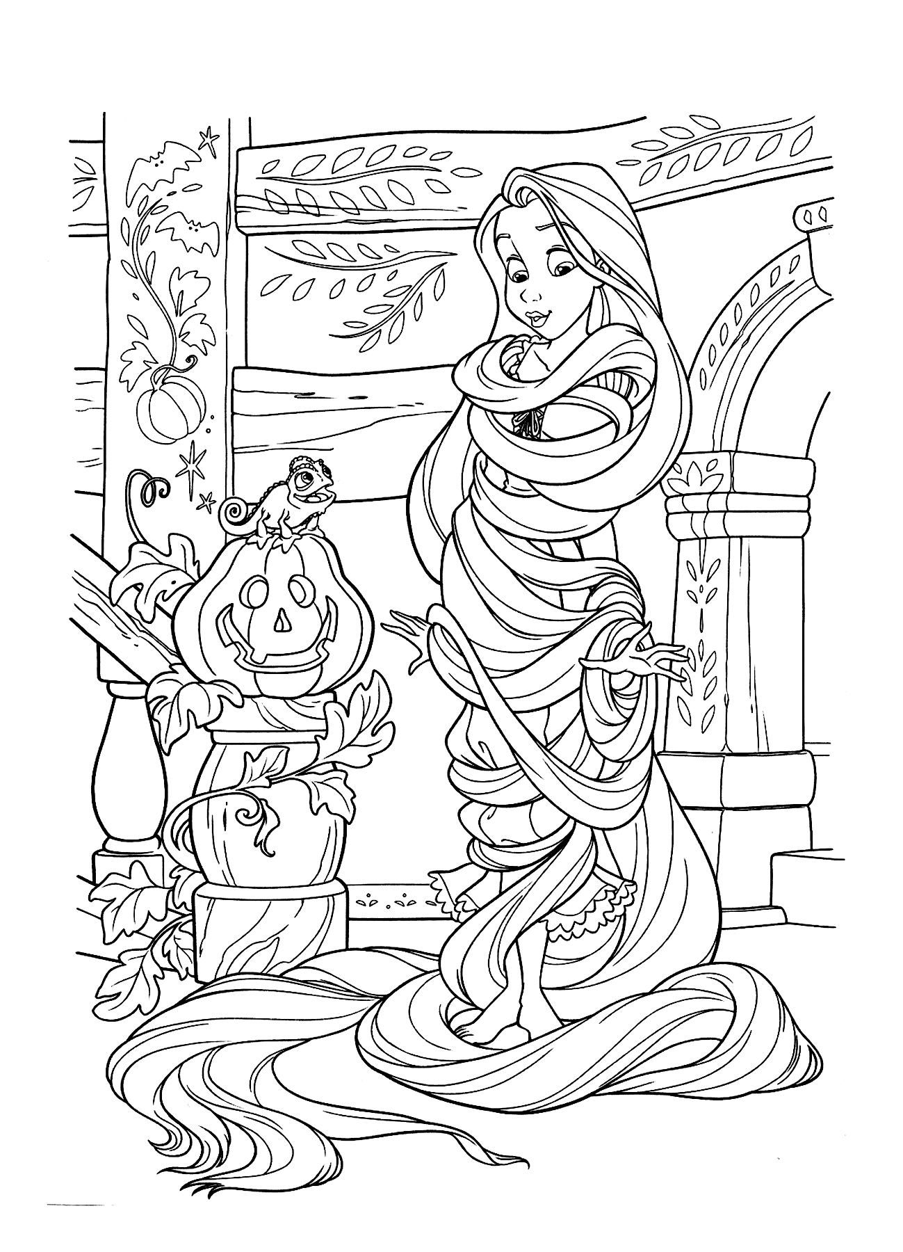tangled for coloring rapunzel coloring pages best coloring pages for kids for coloring tangled