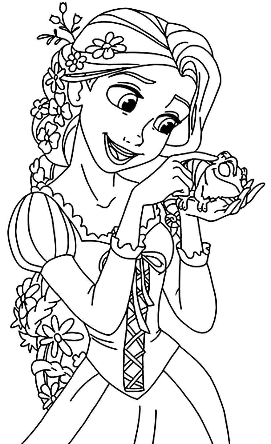 tangled for coloring tangled free to color for children tangled kids coloring tangled for coloring
