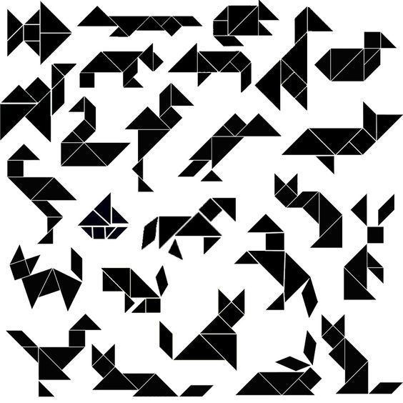 tangram pictures printable tangram pieces pattern and a range of printable designs to printable tangram pictures
