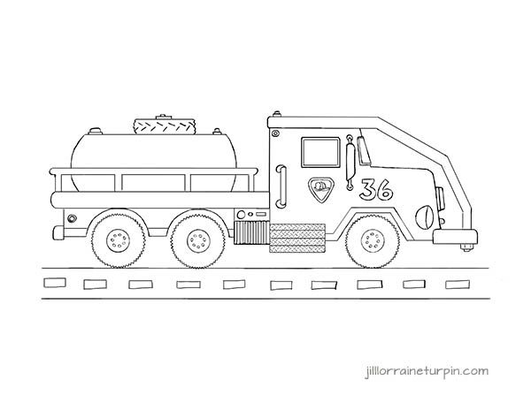 tanker truck coloring page free printable tanker fire truck coloring page at http page tanker coloring truck