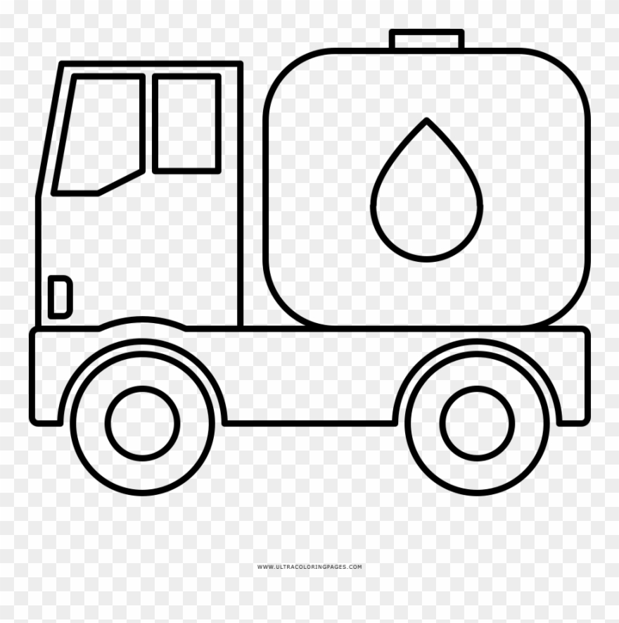 tanker truck coloring page oil tank truck coloring pages free printable oil tank truck coloring page tanker 1 1