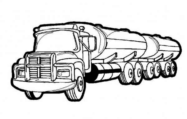 tanker truck coloring page tanker coloring page coloringcrewcom truck tanker coloring page