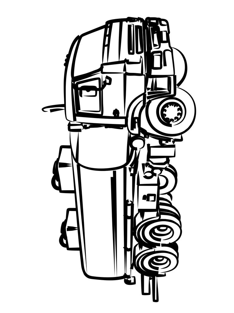 tanker truck coloring page tanker truck pages coloring pages coloring page tanker truck