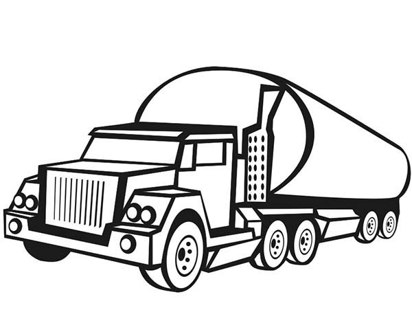 tanker truck coloring page truck coloring pages coloringrocks coloring truck tanker page