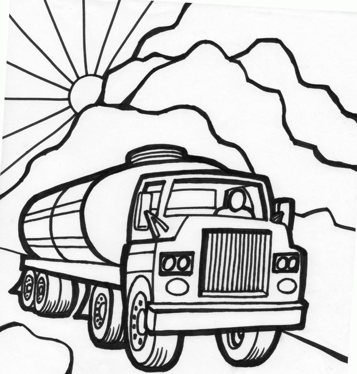 tanker truck coloring page water tanker truck coloring page coloring pages page coloring truck tanker