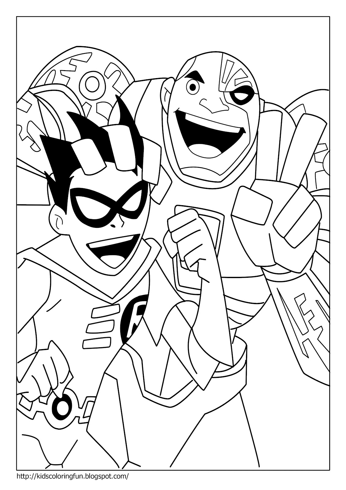 teen titans coloring pages the best free teen coloring page images download from 707 teen coloring titans pages
