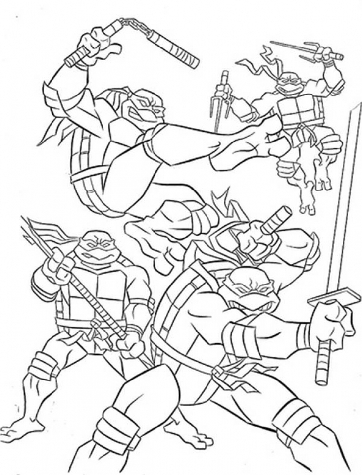 teenage mutant ninja turtle coloring page 20 free printable guardians of the galaxy coloring pages ninja coloring turtle teenage page mutant