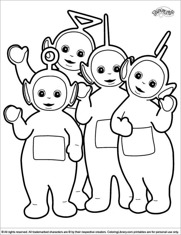 teletubbies coloring pages free printable teletubbies coloring pages for kids coloring pages teletubbies