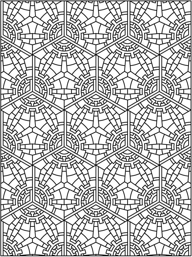 tessellation colouring pages creative haven tessellation patterns coloring book dover colouring pages tessellation