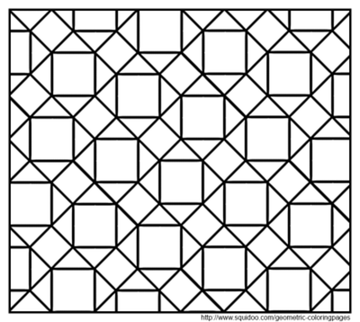 tessellation colouring pages geometric coloring pages hubpages pages colouring tessellation
