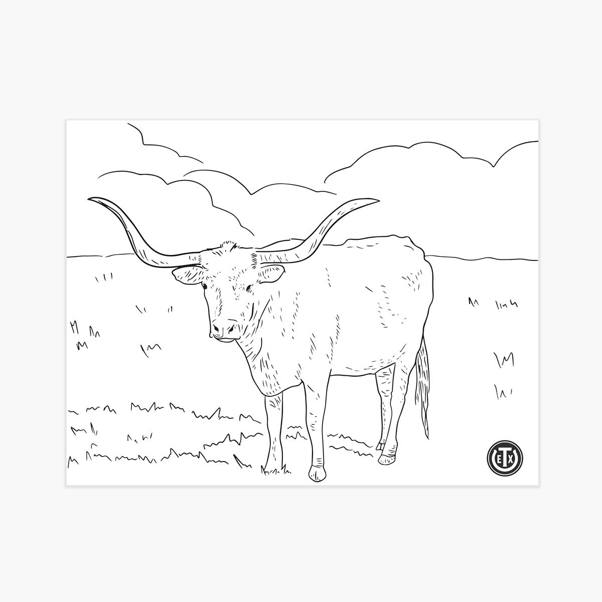 texas longhorns coloring pages texas longhorn steer coloring page cow coloring pages texas longhorns pages coloring