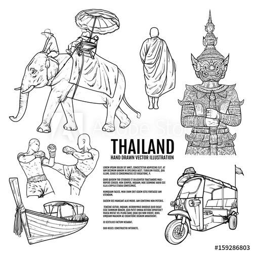 thailand coloring pages thailand coloring pages at getdrawings free download pages thailand coloring