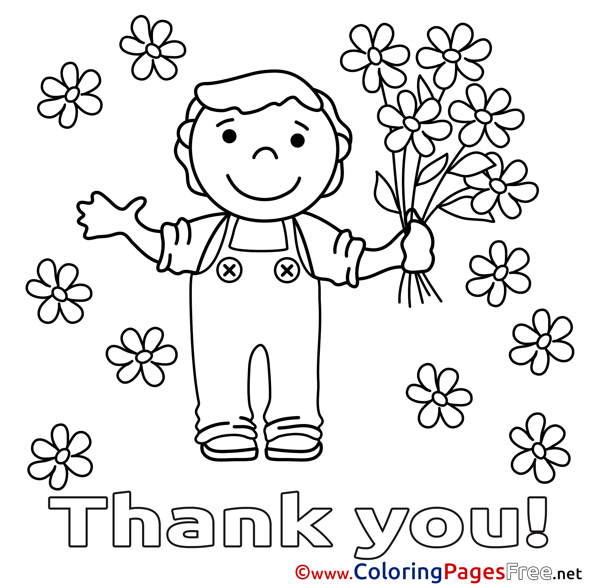 thank you coloring sheets free printable thank you coloring pages coloring pages coloring you thank sheets