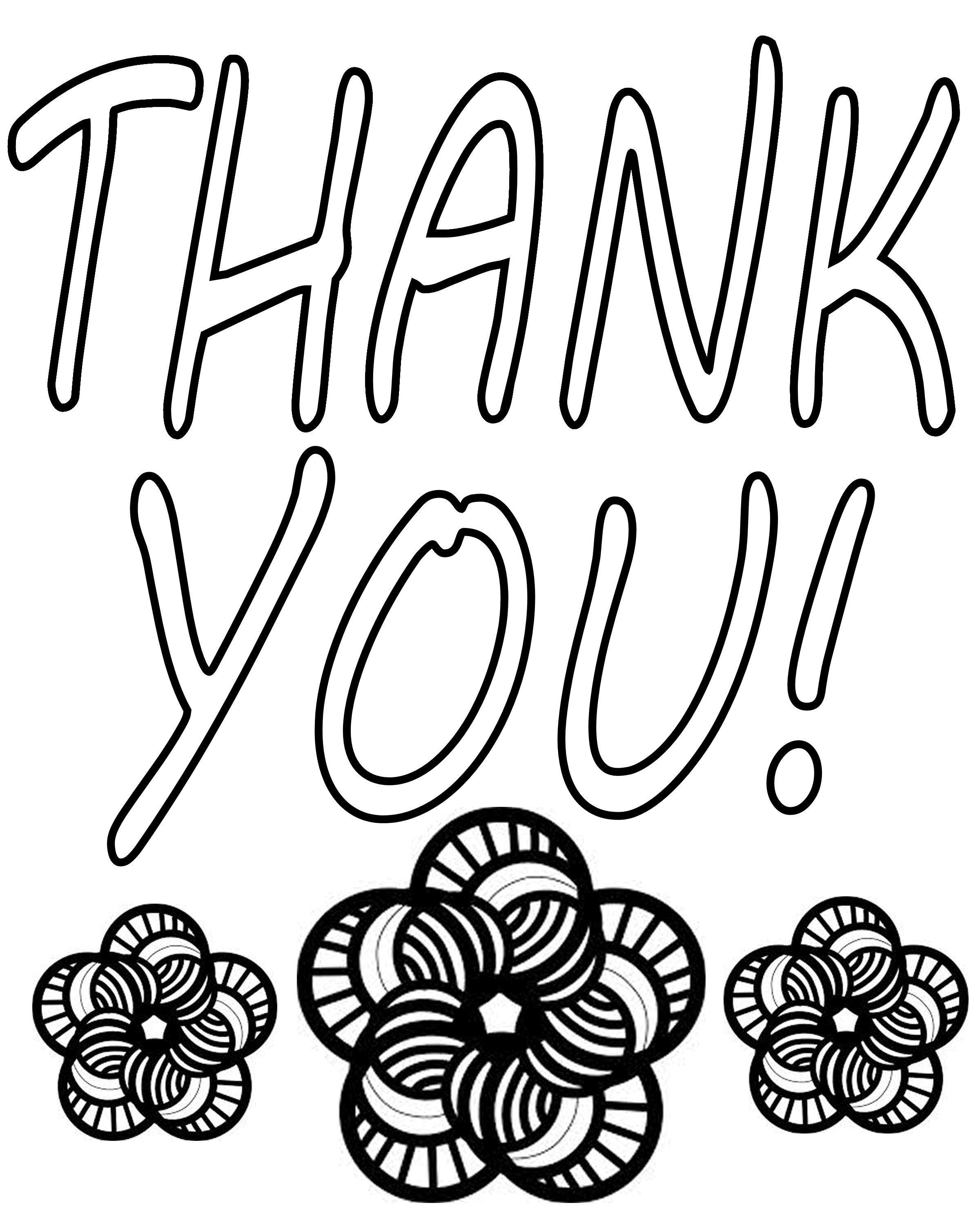 thank you coloring sheets greeting card coloring pages doodle art alley thank sheets you coloring