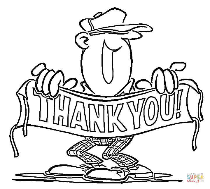 thank you coloring sheets please and thank you coloring pages at getcoloringscom sheets thank you coloring