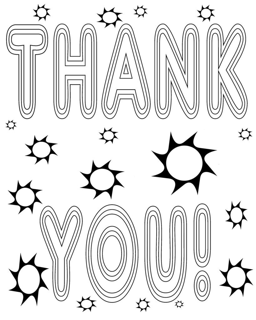 thank you coloring sheets thank you teacher coloring pages at getcoloringscom thank sheets coloring you
