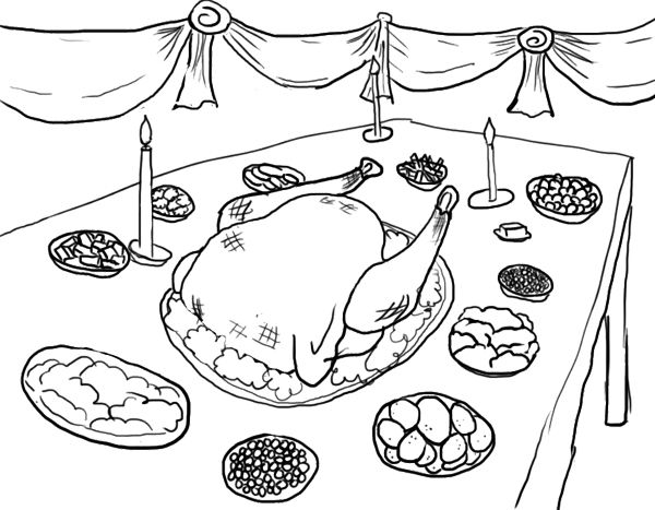 thanksgiving dinner coloring pages thanksgiving dinner coloring page coloring pages color coloring pages thanksgiving dinner
