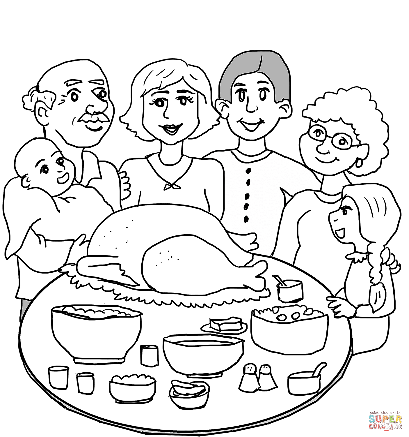 thanksgiving dinner coloring pages thanksgiving dinner coloring pages at getcoloringscom coloring dinner pages thanksgiving