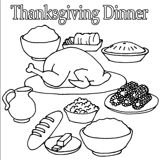 thanksgiving dinner coloring pages thanksgiving dinner pages to color 006 coloring pages thanksgiving dinner