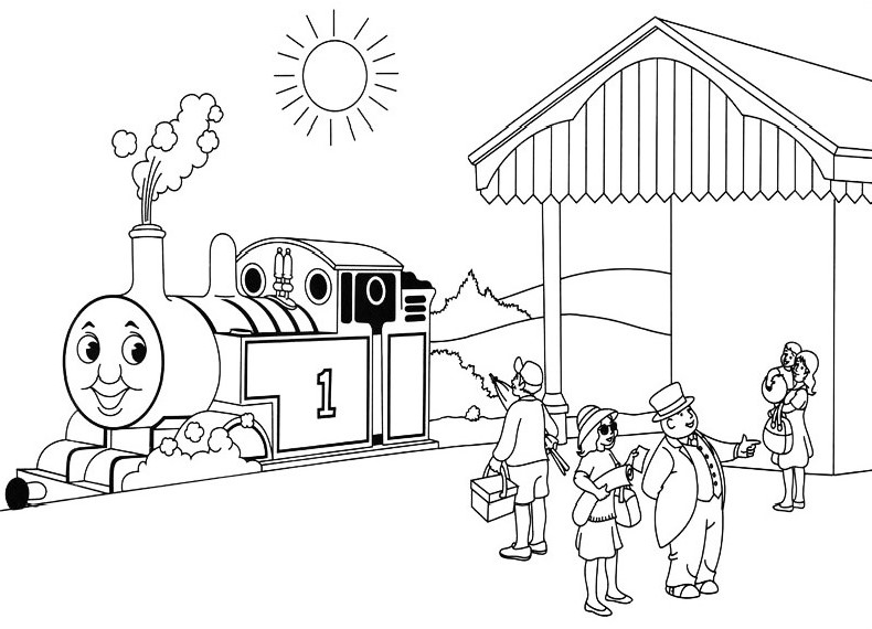 thomas minis coloring pages thomas the train drawing at getdrawings free download pages coloring minis thomas