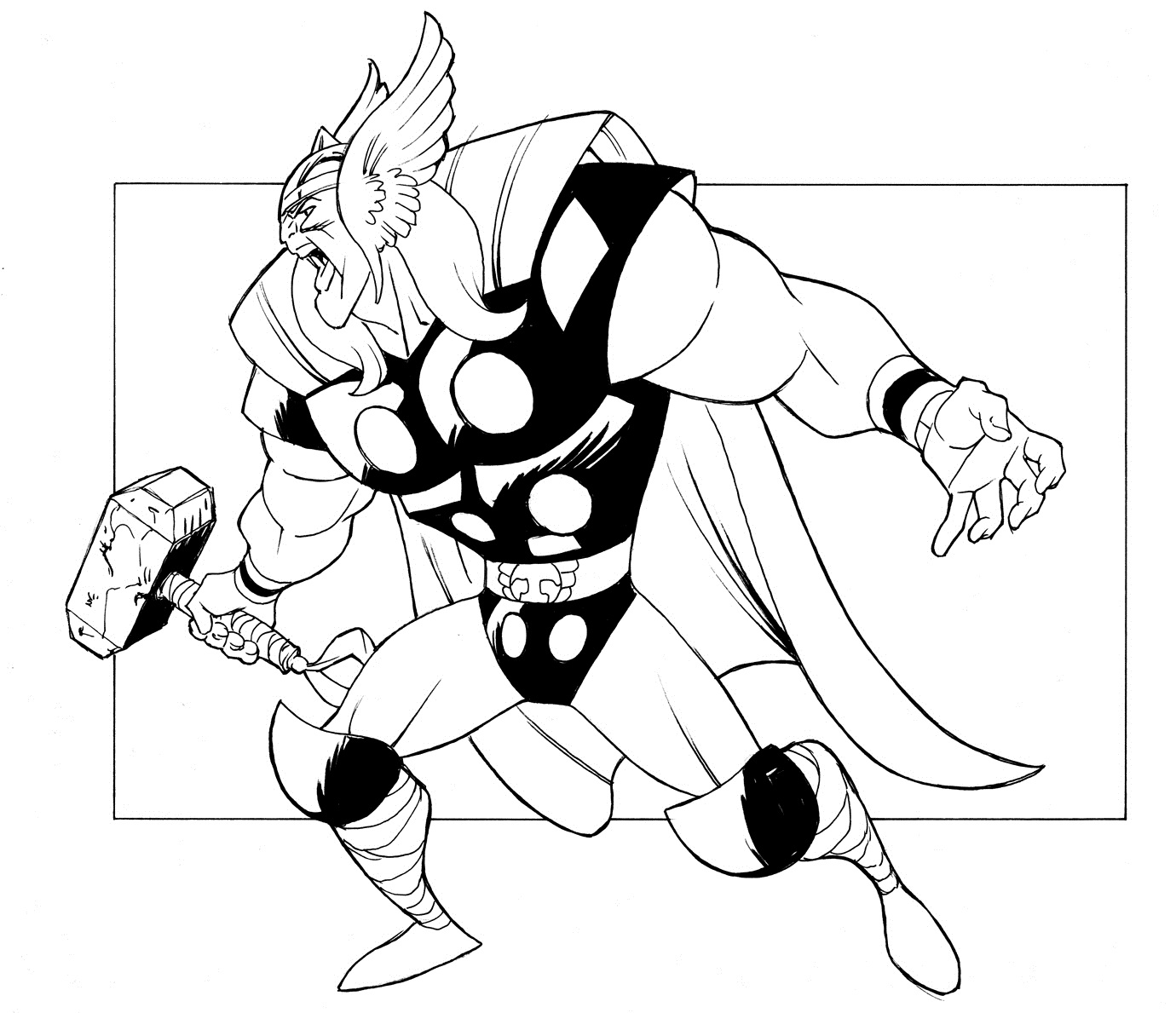 thor printable coloring pages disney infinity thor coloring page coloring pages coloring thor printable pages