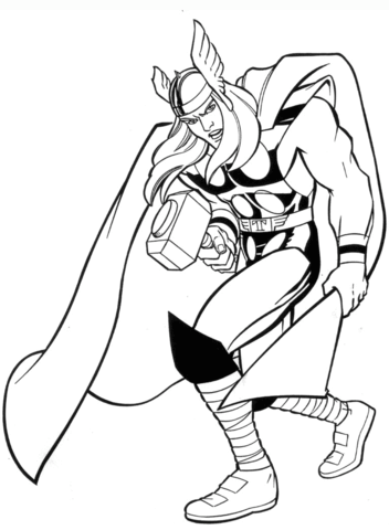 thor printable coloring pages marvel thor coloring page free printable coloring pages thor pages coloring printable