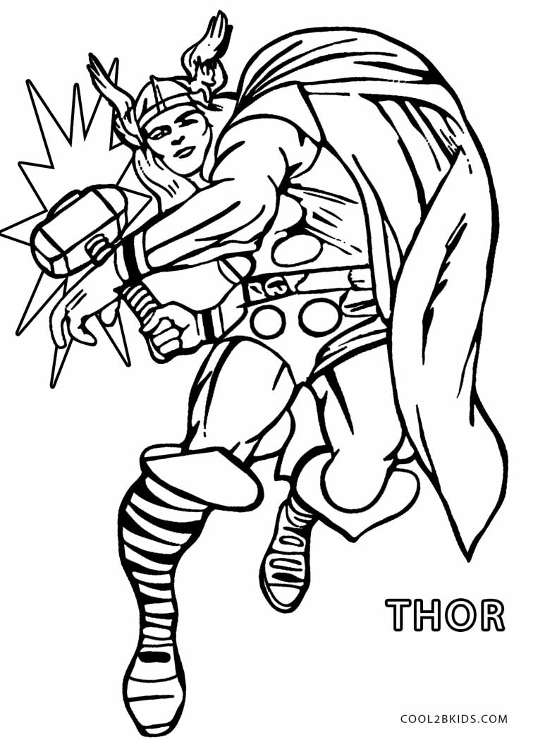 thor printable coloring pages thor coloring pages coloring pages pages printable coloring thor