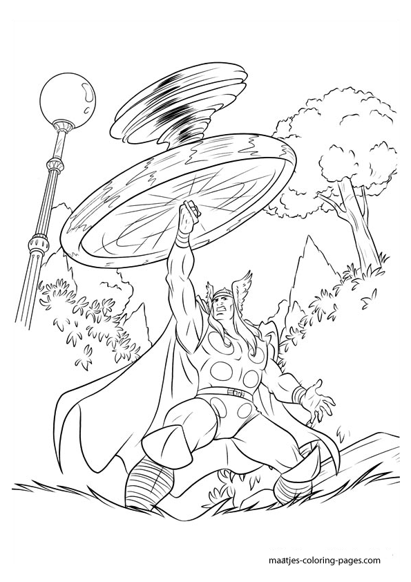thor printable coloring pages thor coloring pages coloring printable thor pages