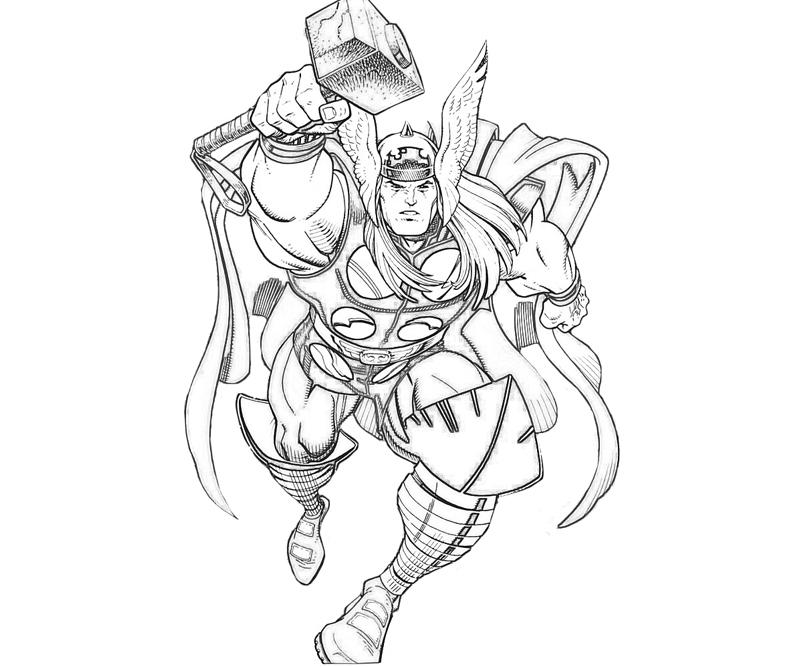 thor printable coloring pages thor coloring pages getcoloringpagescom thor coloring pages printable