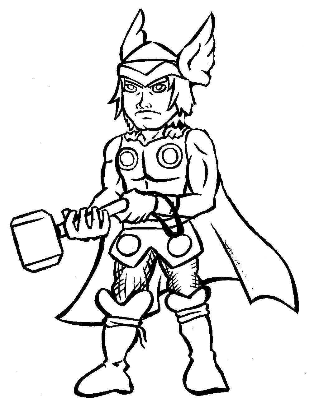 thor printable coloring pages thor coloring pages getcoloringpagescom thor pages printable coloring
