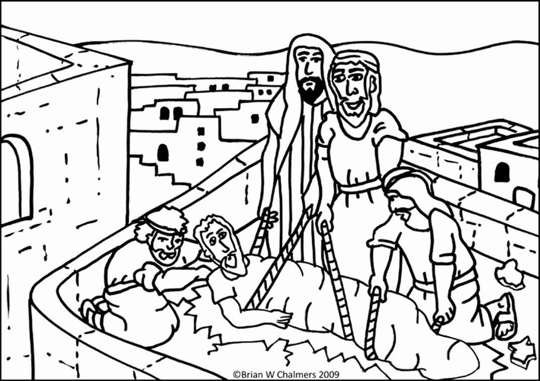 through the bible coloring pages 32 paralyzed man lowered through roof coloring page in through the bible pages coloring