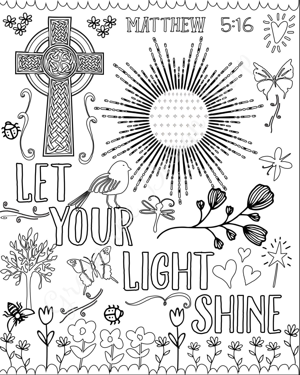 Through the bible coloring pages